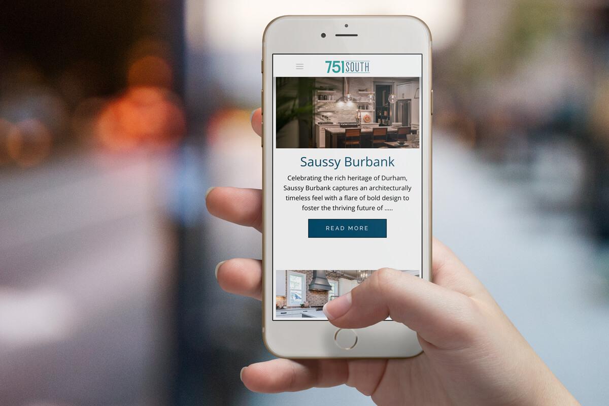 real estate marketing web design raleigh nc
