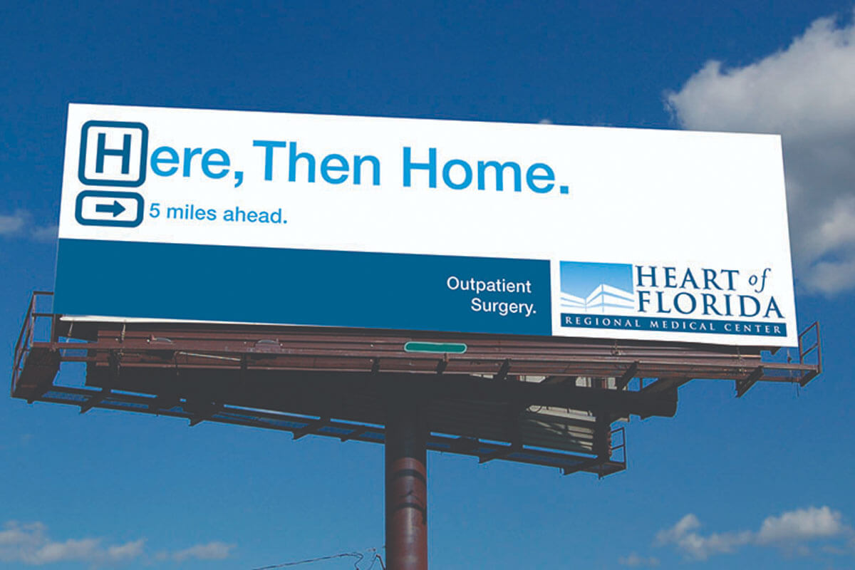 healthcare billboard advertisement design healthcare marketing raleigh nc