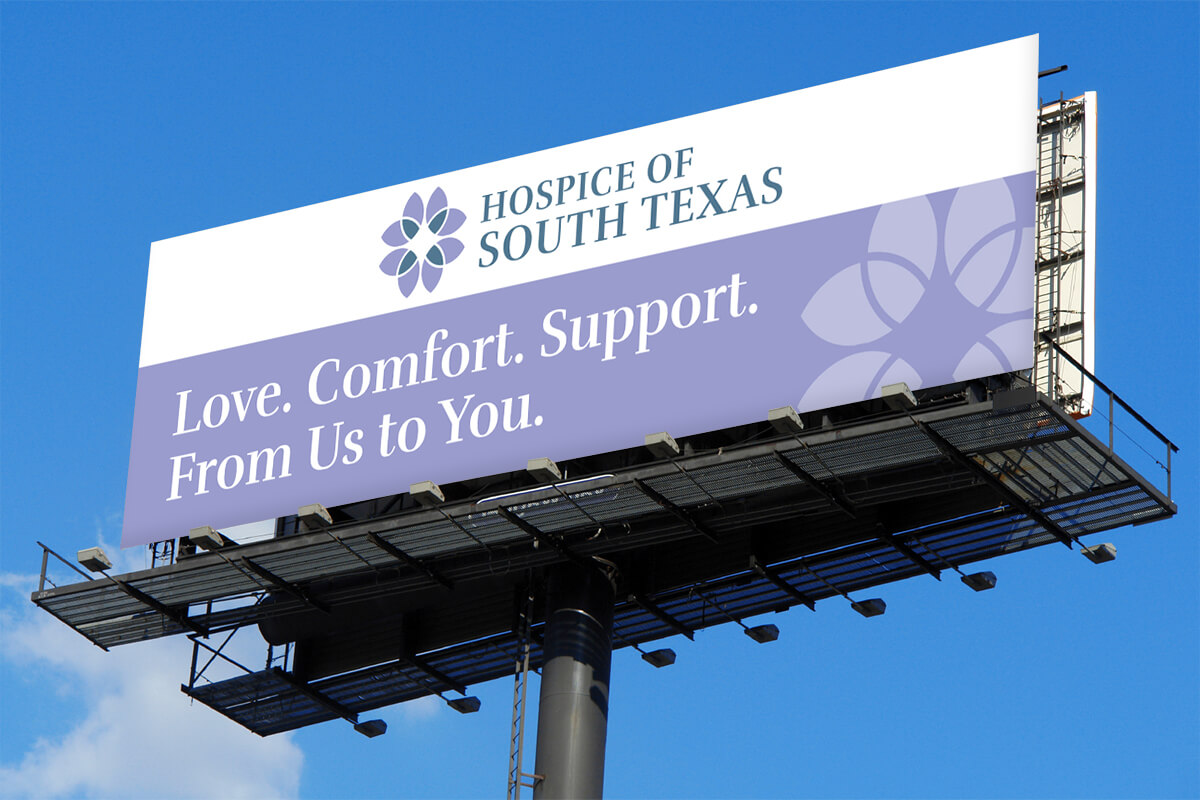 hospice billboard advertisement design hospice marketing raleigh nc