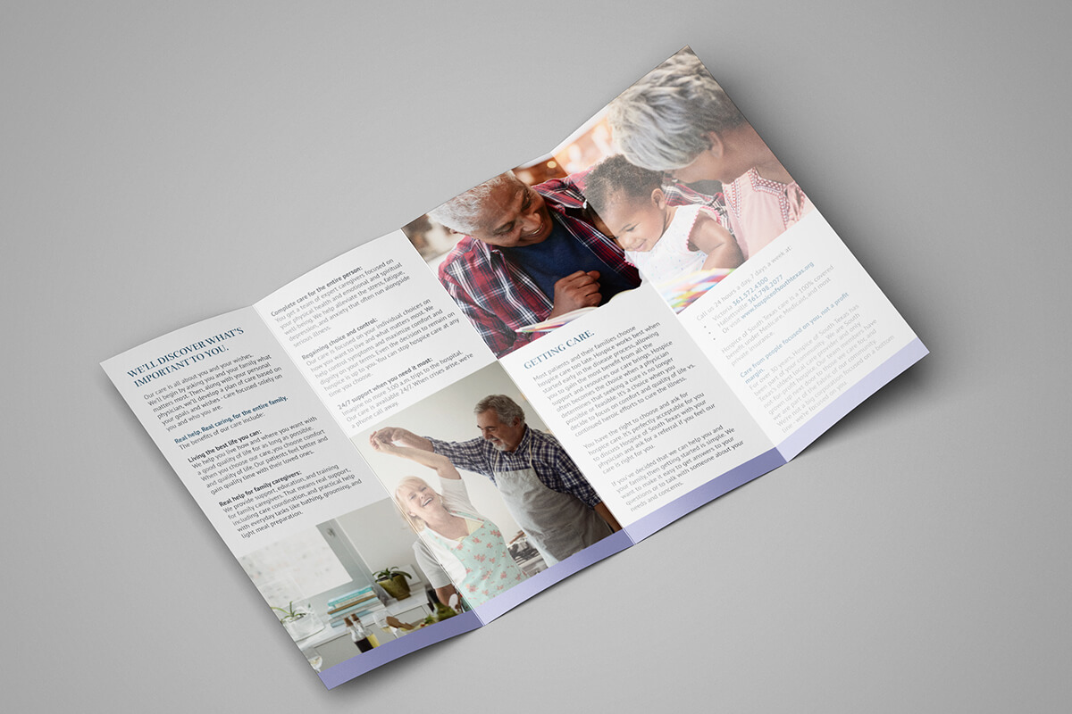 hospice brochure design hospice marketing raleigh nc