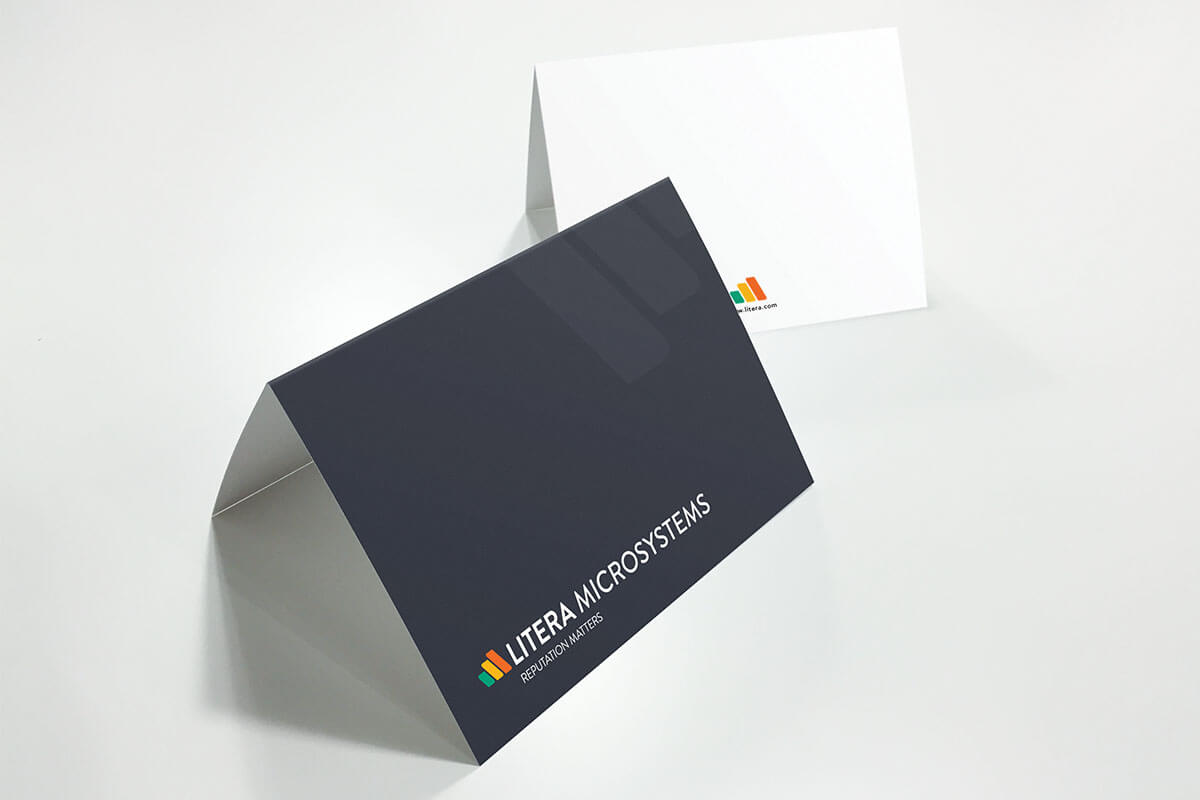 technology notecard design technology marketing raleigh nc