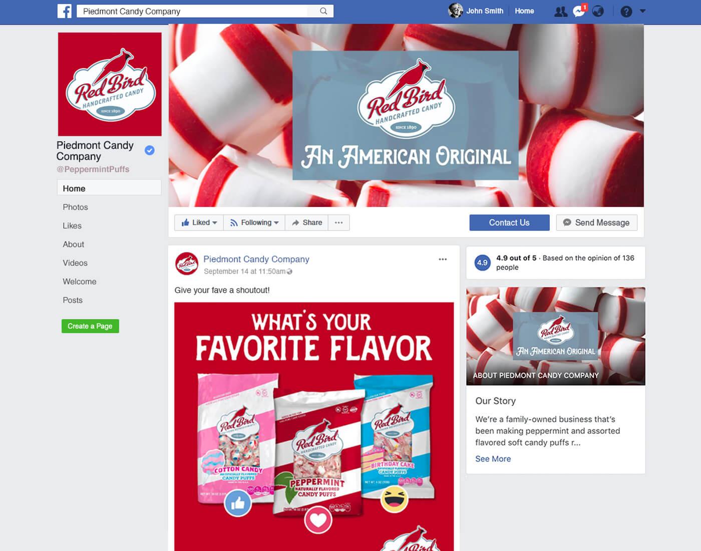 consumer goods social media marketing raleigh nc