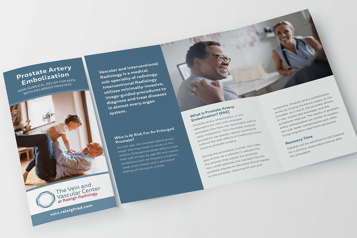 healthcare marketing brochure print raleigh nc