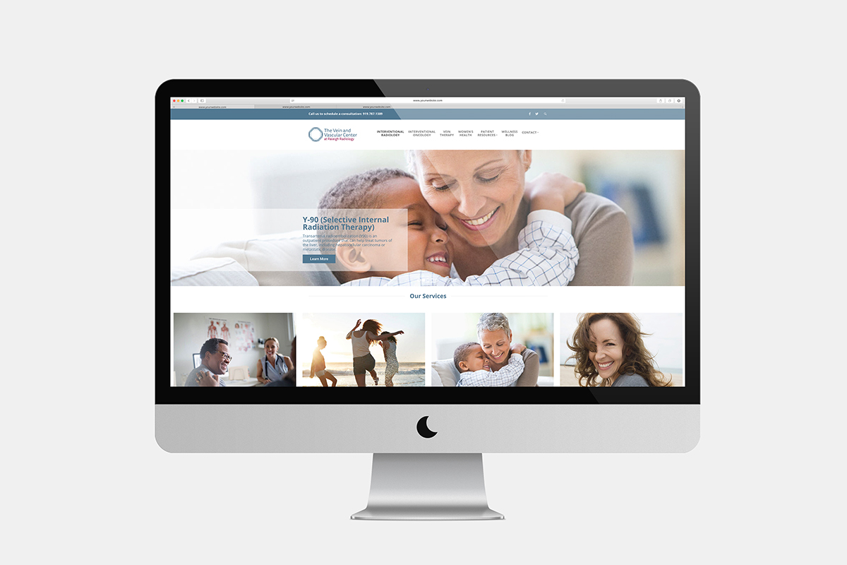 vein clinic website design vein clinic marketing raleigh nc