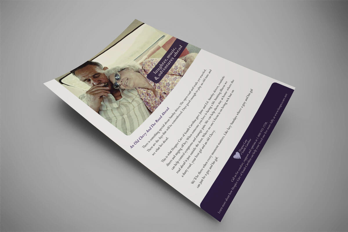 hospice advertisement design hospice marketing raleigh nc