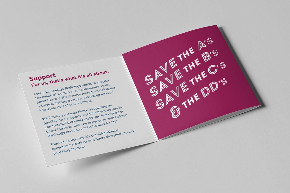 healthcare radiology brochure design healthcare radiology marketing raleigh nc