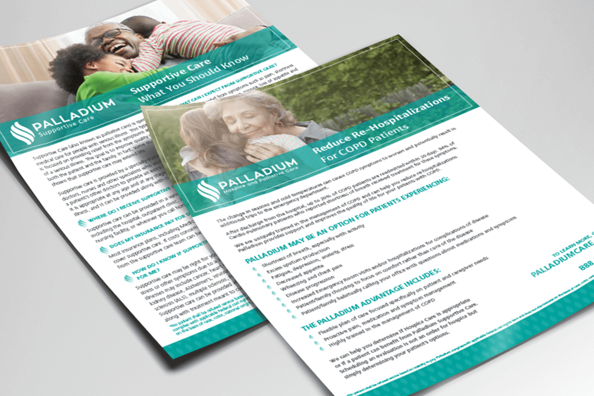 healthcare marketing flyer raleigh nc