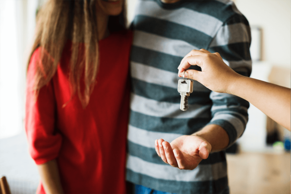 Millennial Couple Buying a House Real Estate Marketing Raleigh