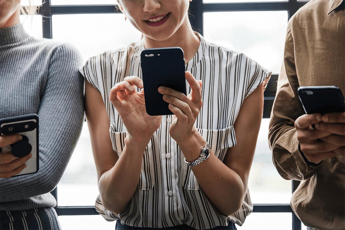 Millennials on iphones social media marketing raleigh nc