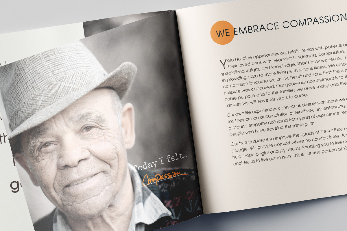 hospice marketing brochure raleigh nc