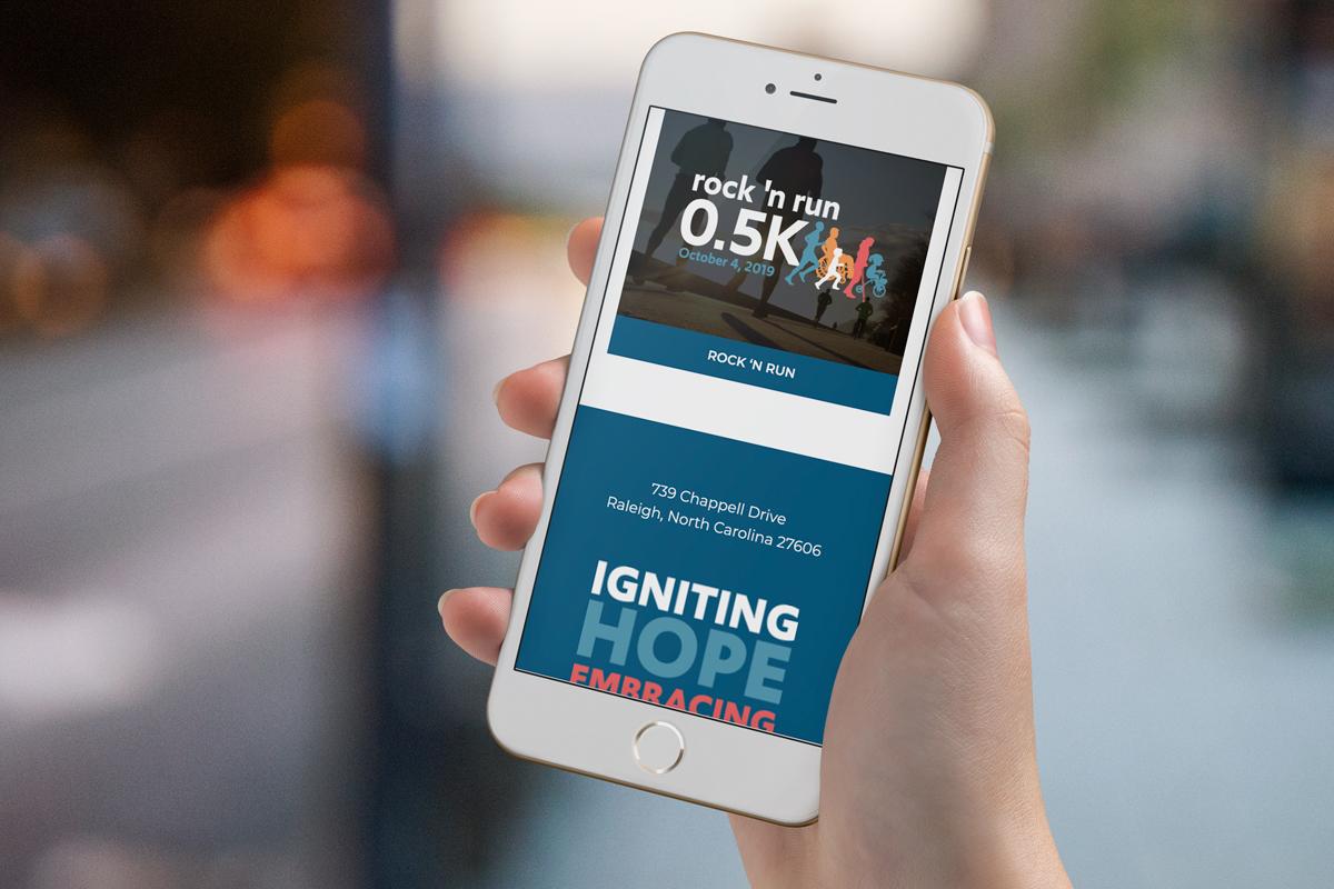 nonprofit website design mobile web design